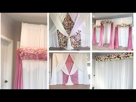 DIY-Flower Wall Decor DIY- How To Use Flower Panels DIY- Wedding Decor