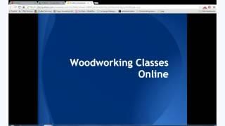 Woodworking Classes Online