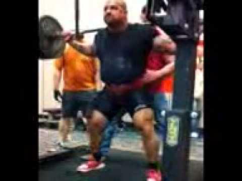 APF Texas cup Gilbert Tamez 705 squat RAW