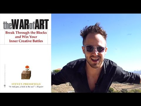 The War Of Art: How To Battle Resistance & The Importance Of TURNING PRO!