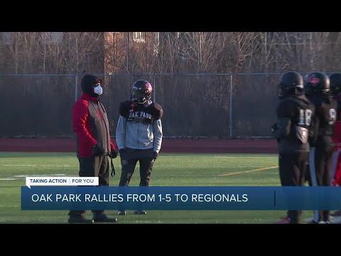 Oak Park Football Rallies From 1-5 Start To State Quarterfinals