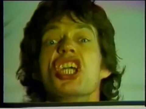 ROLLING STONES Mick Jagger on 'Tattoo You' marketing promo video, 1981