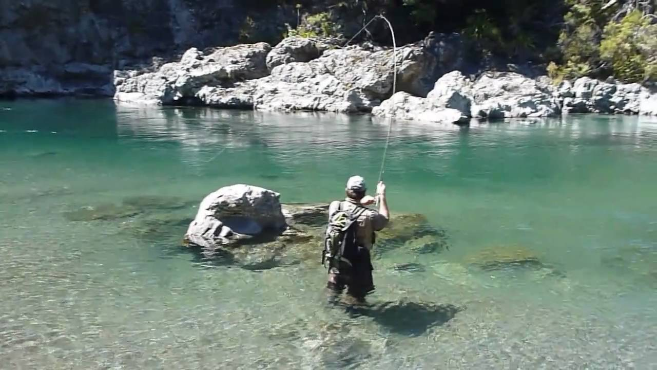 Fly fishing new zealand backcountry youtube for New zealand fish