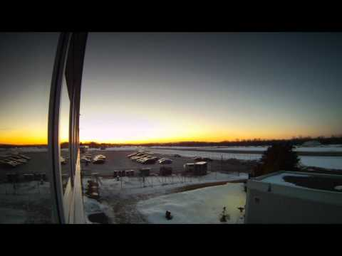 The Sun Sets Over Rockcliffe Air Port, Ottawa