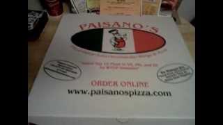 S-a-s Pizza Night # 2 Paisano's Pizza