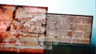 Stock Photography   Free Download   Brick Texture Pack #1