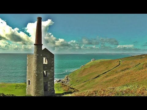 Wheal Prosper Mine And Cornish Engine House - Tin Mining In Cornwall