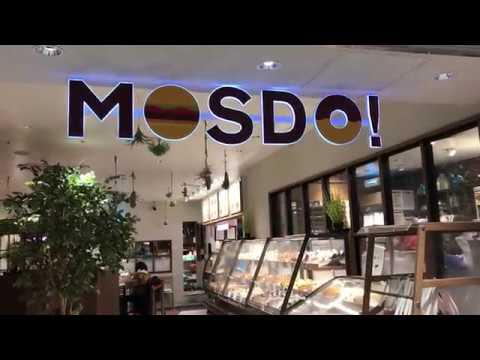MOSDO(モスド)モズバーガー、ミスドコラボ 関空