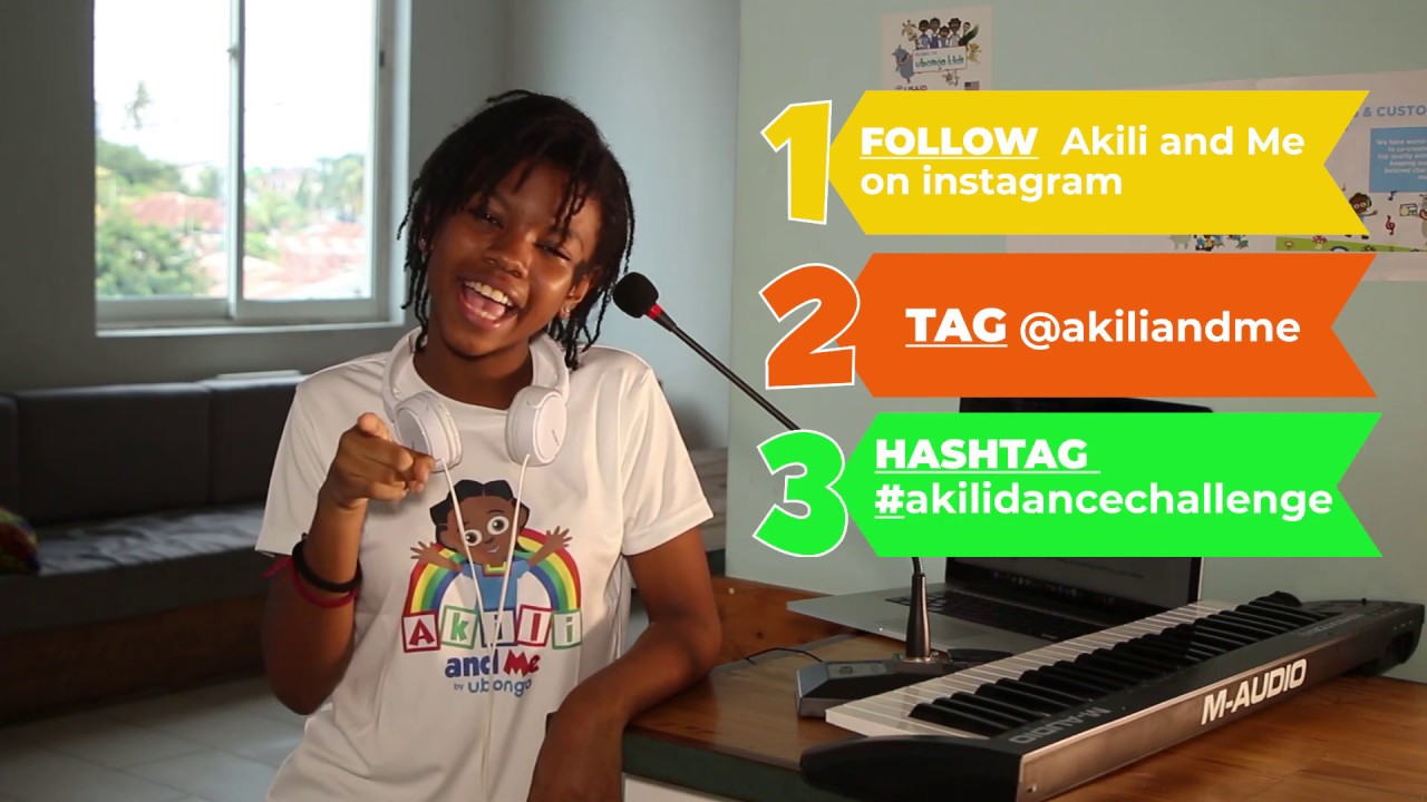 Akili and Me Dance Challenge | Post Your #akiliandme Dance on Instagram