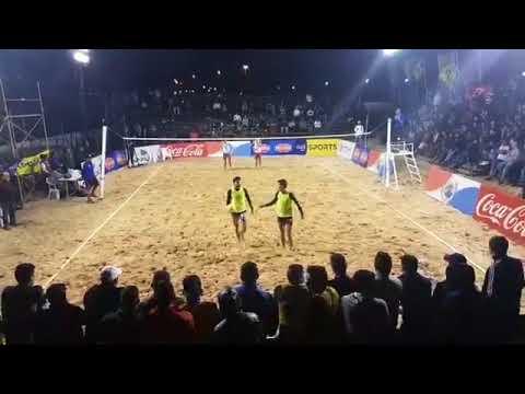 Copa América de Futevôlei 2018 - Final - 3 SET - Lalazinho e Paraná X Acepar e Moises