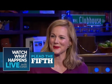 Plead the Fifth: Laura Linney on Liam Neeson's Big Bulge  WWHL