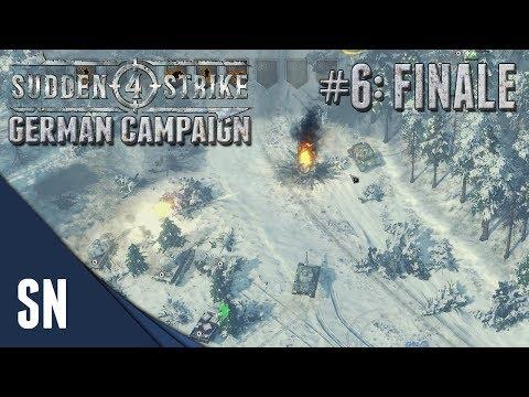 Battle #6: The Final Push! - Sudden Strike 4 - German Campaign Gameplay