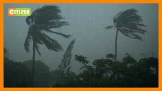 Tropical cyclone Jobo aiming at Tanzania'a largest city Dar Es Salaam