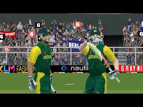 Australia vs south Africa full match 2018 real cricket gameplay