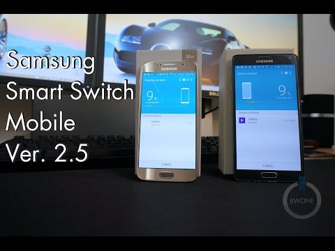 How To Use Samsung Smart Switch Mobile Ver. 2