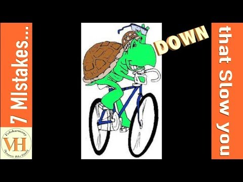 7 Cycling mistakes that slow you down on the bike - 동영상