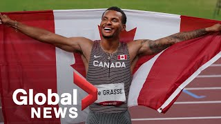 Tokyo Olympics: Andre De Grasse wins gold in 200-metre race, sets Canadian record
