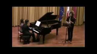 Mimmo Malandra sax contralto  Eugène Bozza caprice n° 7