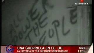 Weather Underground - Una Guerrilla en EE UU