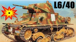 Włoskie czołgi I - III Super magazynek L6/40