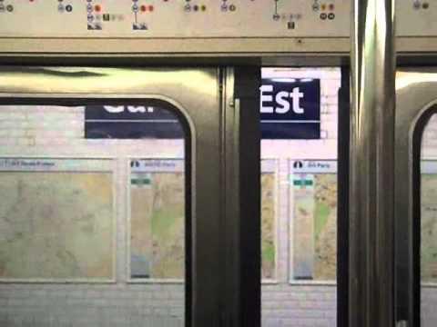 Metro a paris
