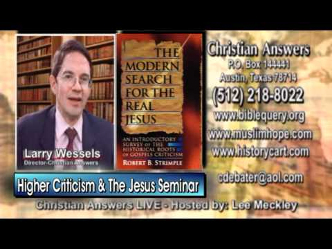 """UNBELIEVING """"SCHOLARS"""" SAY BIBLICAL JESUS IS A PHONY MYTH WHILE BOGUS """"JESUS SEMINAR"""" DOES SAME"""