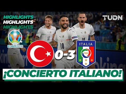 Download Highlights   Turquía 0-3 Italia   UEFA Euro 2020 - Inauguración   Grupo A Jornada 1   TUDN
