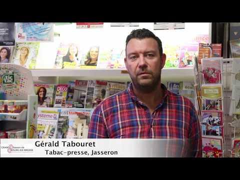 Portrait commerçant et artisan - Bureau de tabac et presse à Jasseron