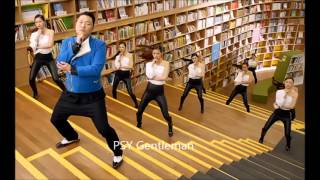 Psy - gentleman (mp3) + several pictures