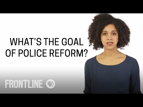 What is the Goal of Police Reform? | #AskFRONTLINE