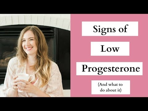 Signs Of Low Progesterone (& What To Do About It)
