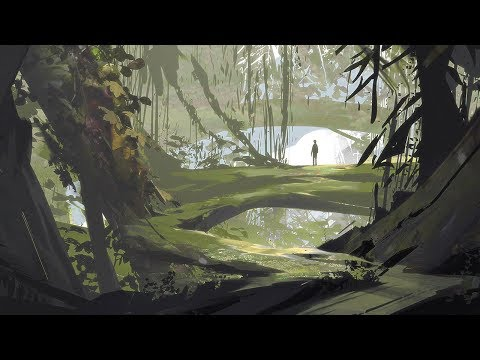 Jungle Sketch: Digital Painting Time-Lapse