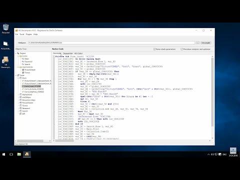 VB Decompiler - Native Code Decompilation