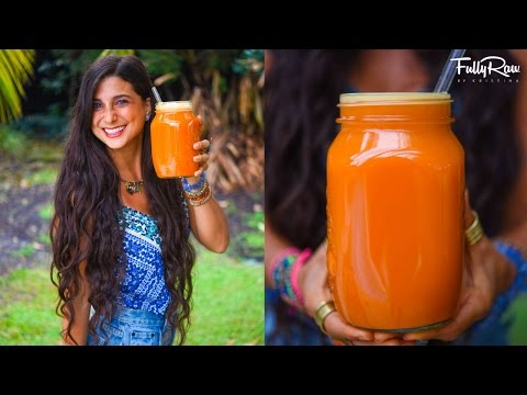 Amazing FullyRaw Juice to GET THE GLOW!