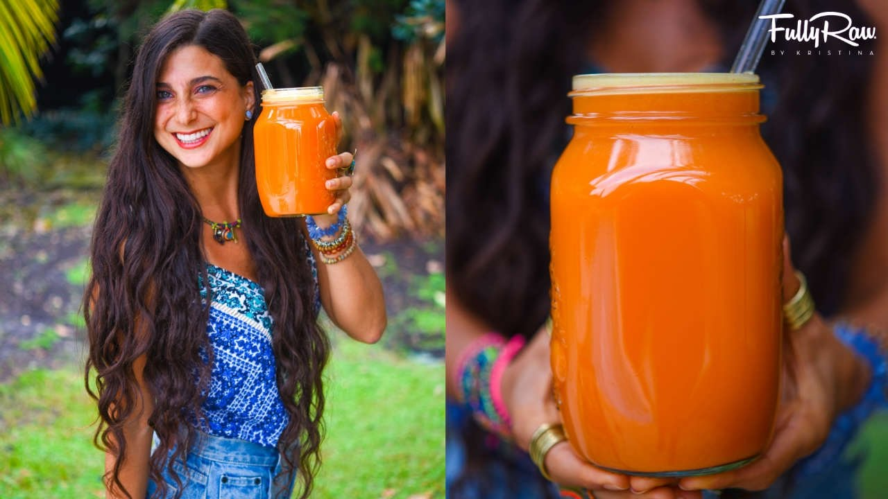 amazing fullyraw juice to get the glow youtube. Black Bedroom Furniture Sets. Home Design Ideas