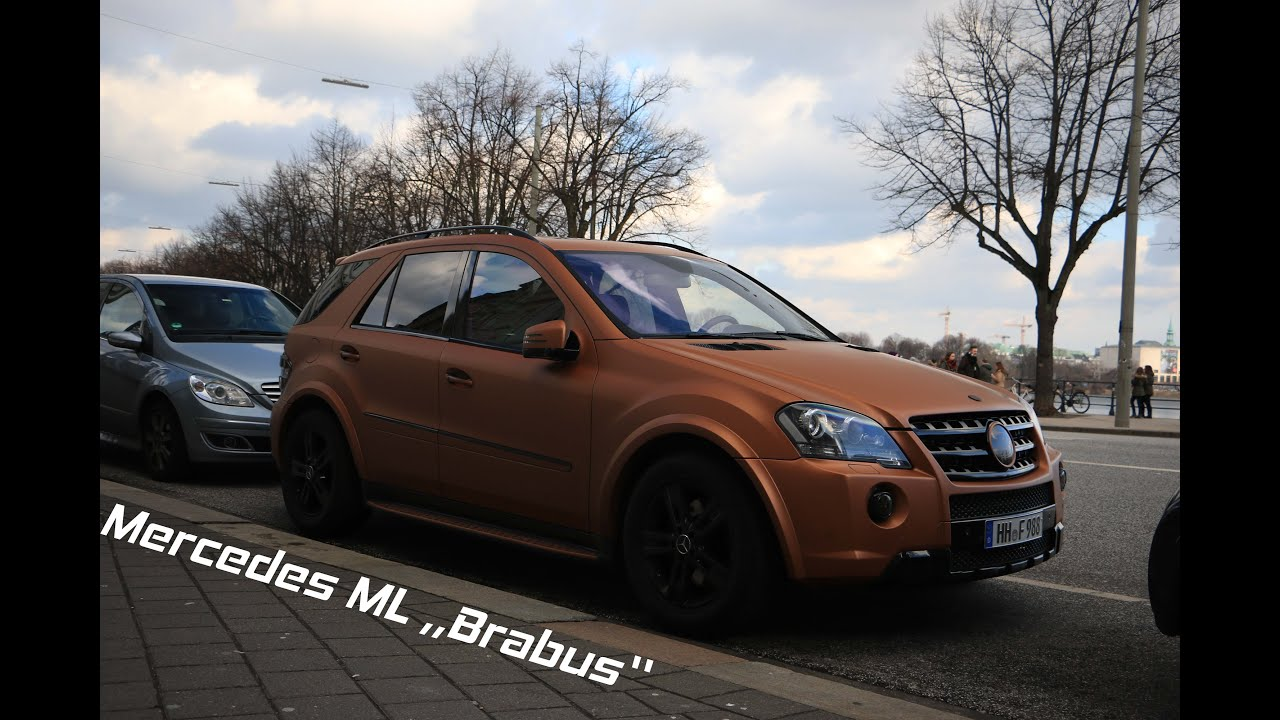 mercedes ml brabus hamburg youtube. Black Bedroom Furniture Sets. Home Design Ideas