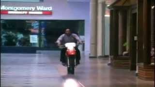 Springdale Mall Motorcycle Chase Scene from Raw Justice (1994) Mobile, AL