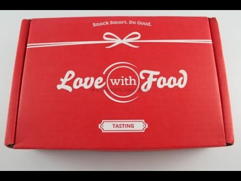 March 2015 Love With Food Tasting Box - Free Box - $20.00 Coupon @Lovewithfood