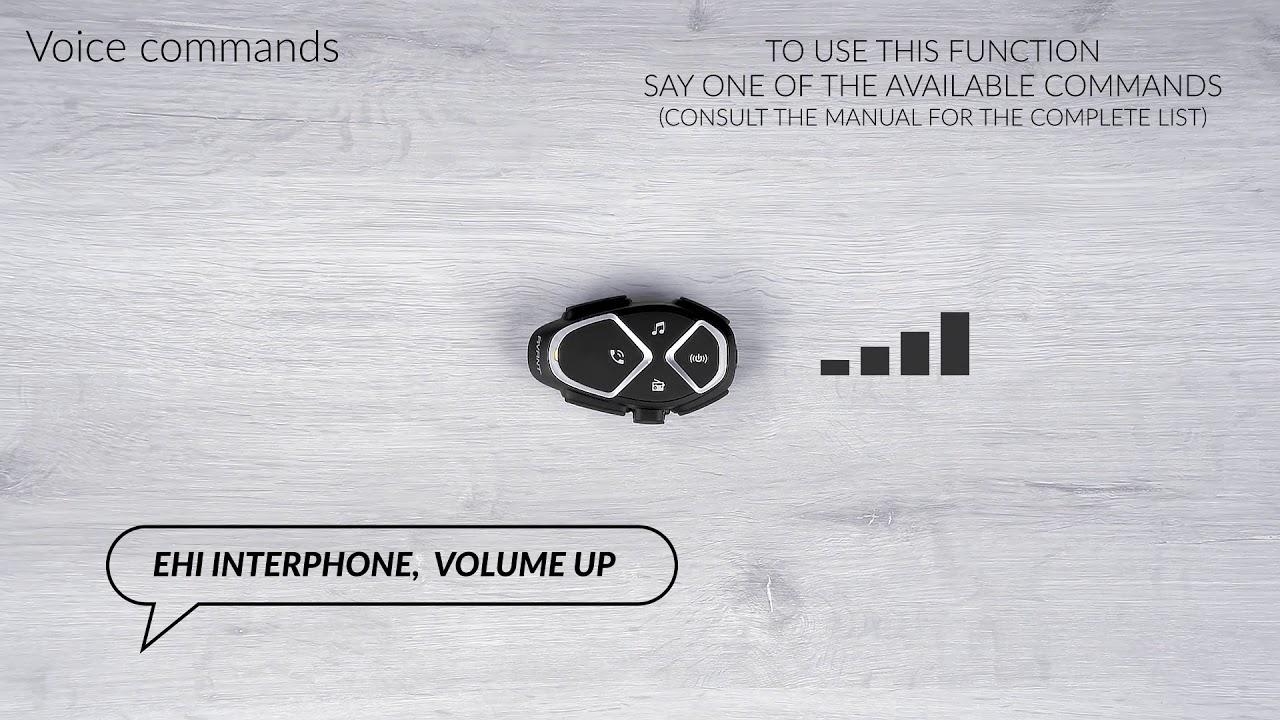 Interphone Avant, voice commands