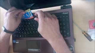 видео Апгрейд ноутбуков   ASUS K53Sd