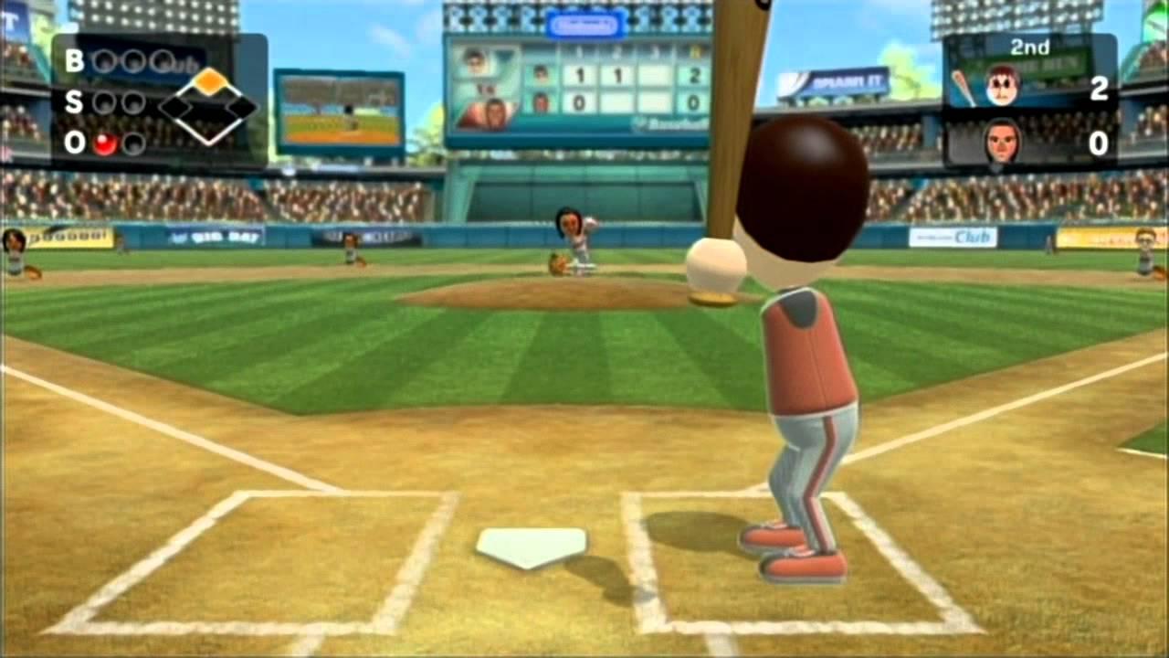 Wii Sports Club Baseball Local Game Critical Hits