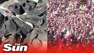 Stampede at Qasem Soleimani funeral procession leaves dozens dead in Iran