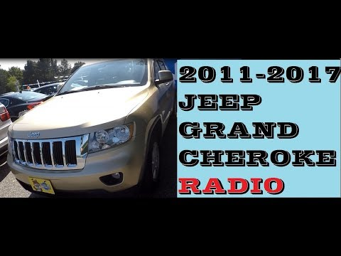How To Remove Radio In Jeep Grand Cherokee 2011-2017