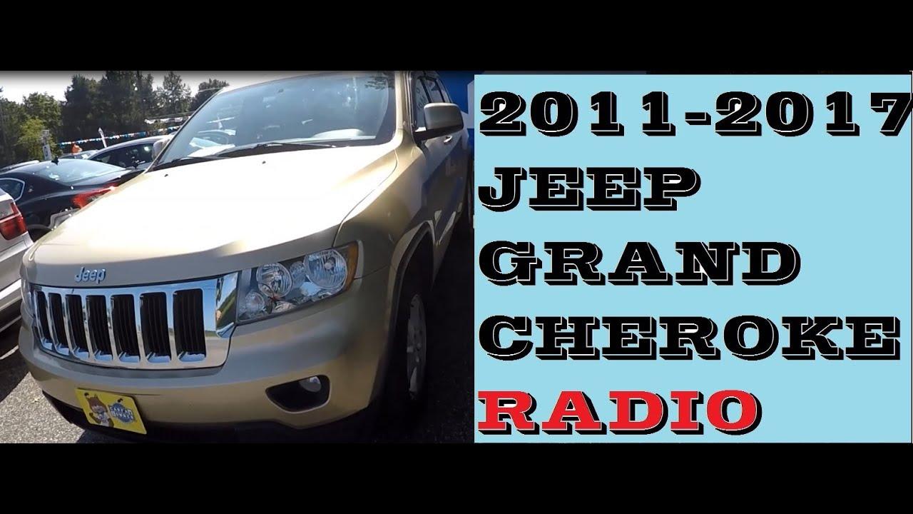 2012 jeep grand cherokee laredo stereo