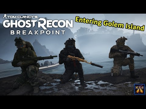 Entering Golem Island For The First Time (Breakpoint Raid 1) | Ghost Recon Breakpoint