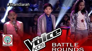 "The Voice Kids Philippines 2015 Battle Performance: ""Pyramid"" Gift vs Francis vs Terese"