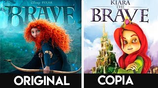 10 COPIAS DESCARADAS De Películas Animadas De DISNEY