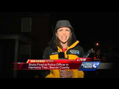 Shots fired at police officer in Harmony Township, Beaver County