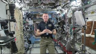 British Astronaut Talks about Life on the Space Station
