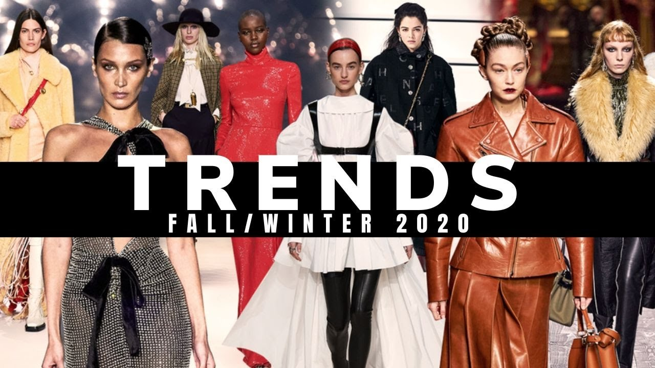 TOP 10 FALL/WINTER 2020-2021 TRENDS - YouTube